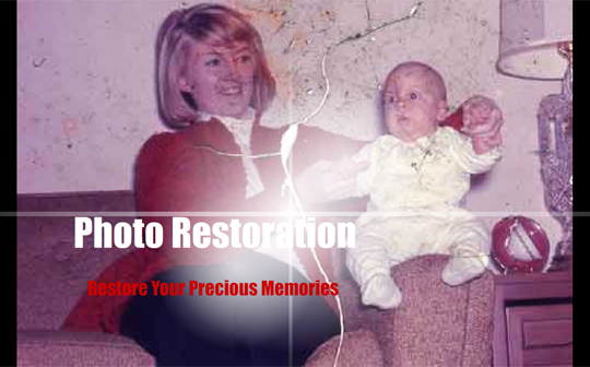 Photo restoration and repair service with Memory Imprint Studio in Rancho Cucamonga, California, (909)248-4647